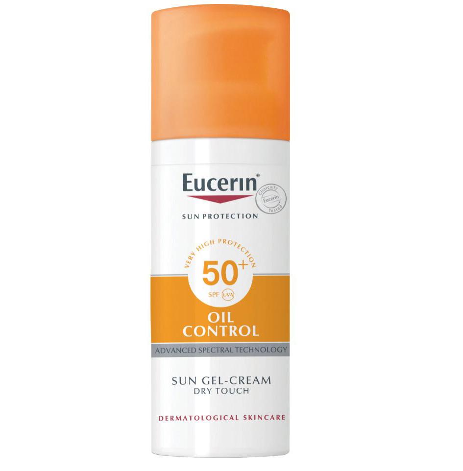 EUCERIN SUN GEL (OIL CONTROL) SPF50+ UVA
